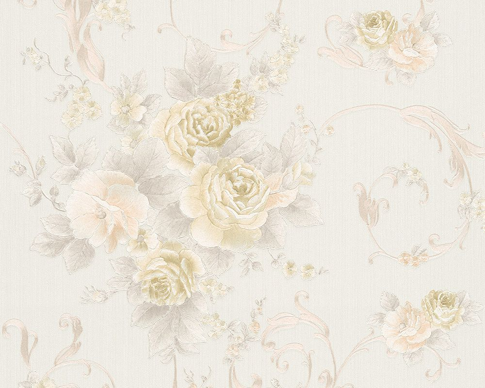 tapeta cienna w kwiaty romantica 30647 1 as creation. Black Bedroom Furniture Sets. Home Design Ideas