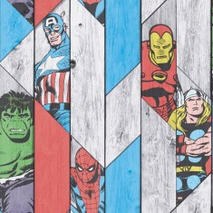 Tapeta ścienna Marvel superbohaterowie Kids@Home 102435 Graham&Brown
